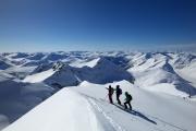 Skidurchquerung in Norwegen