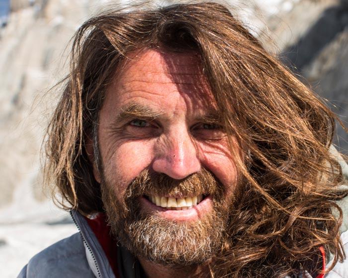 Thomas Huber berichtet über sein Leben als Extremkletterer.