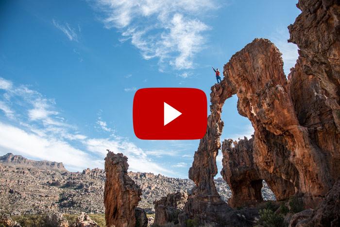 Kletterparadies in den Südafrikanischen Rocklands