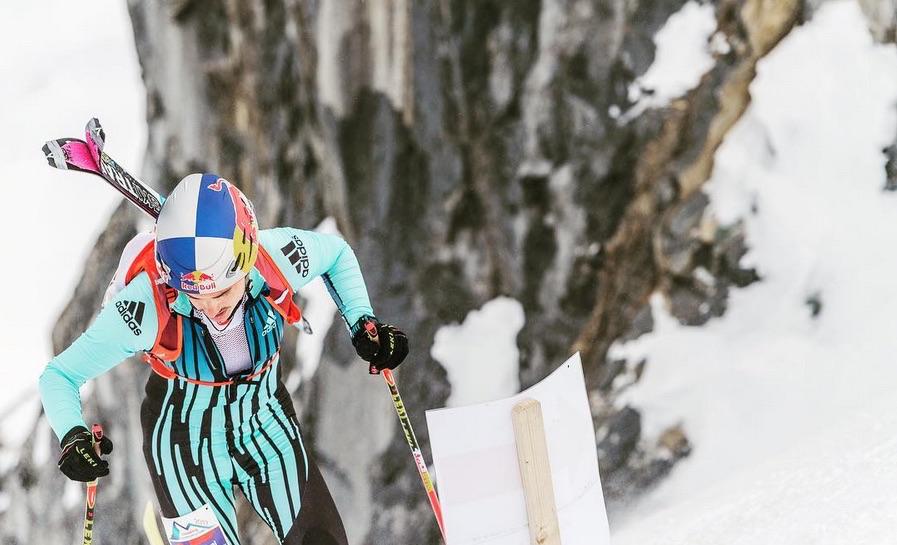 Toni Palzer beim Schneekönig 2017 am Kitzsteinhorn