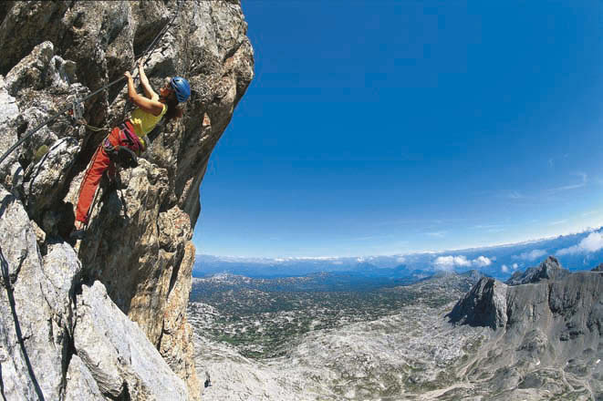 Klettersteig Dachstein : Königsetappe u austria sinabell klettersteig und silberkarsee