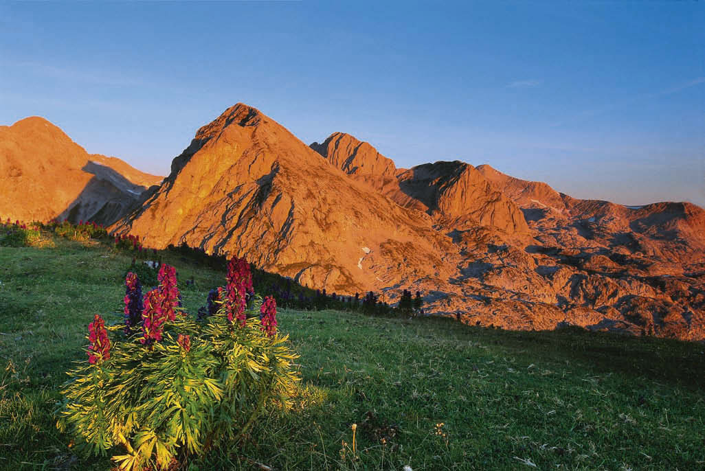Klettersteigset Rot : Tagestour mit klettersteig auf den eselstein bergsteiger magazin