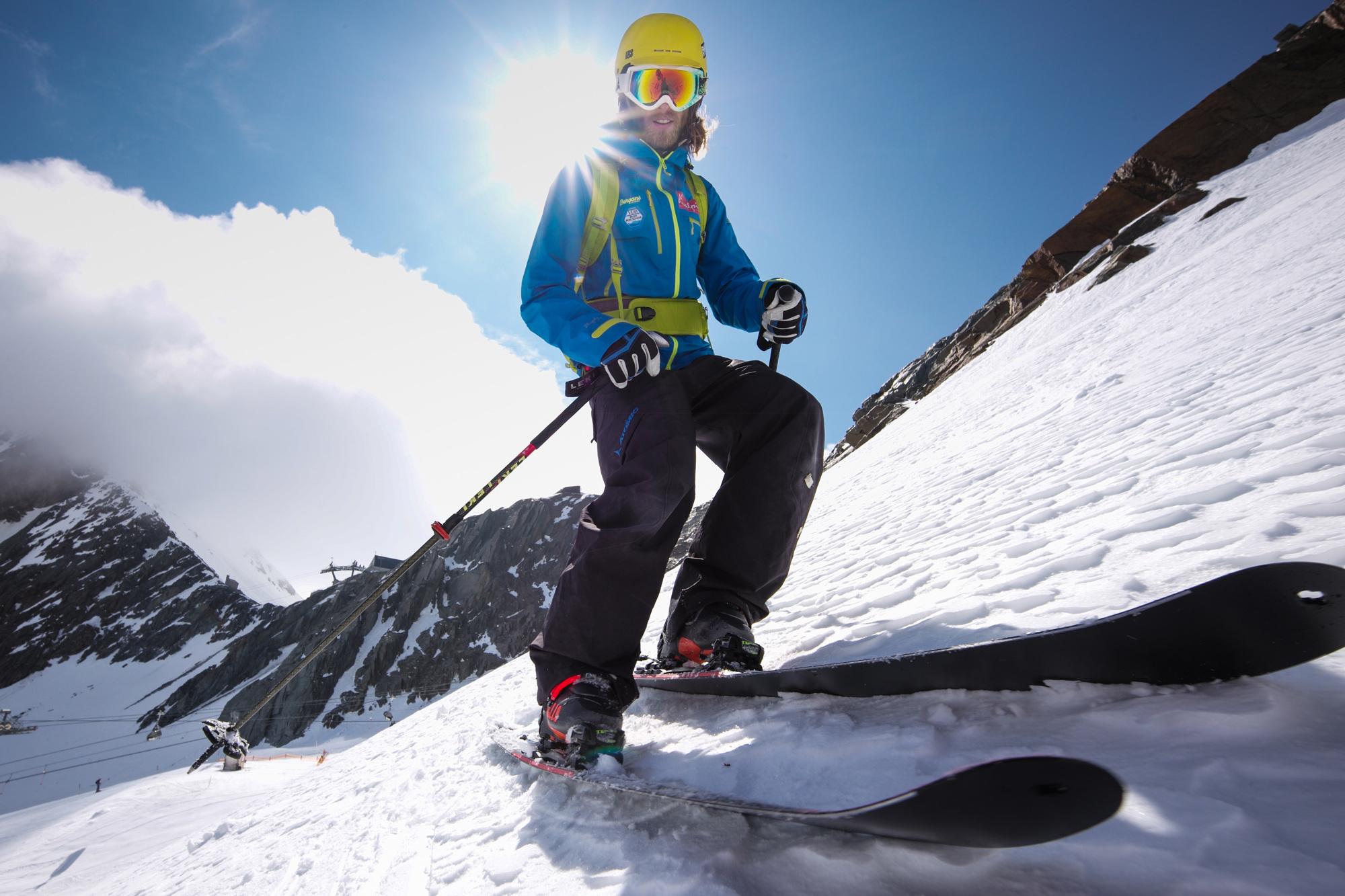 Klettergurt Skitour : Allalinhorn m skitour saas fee guides