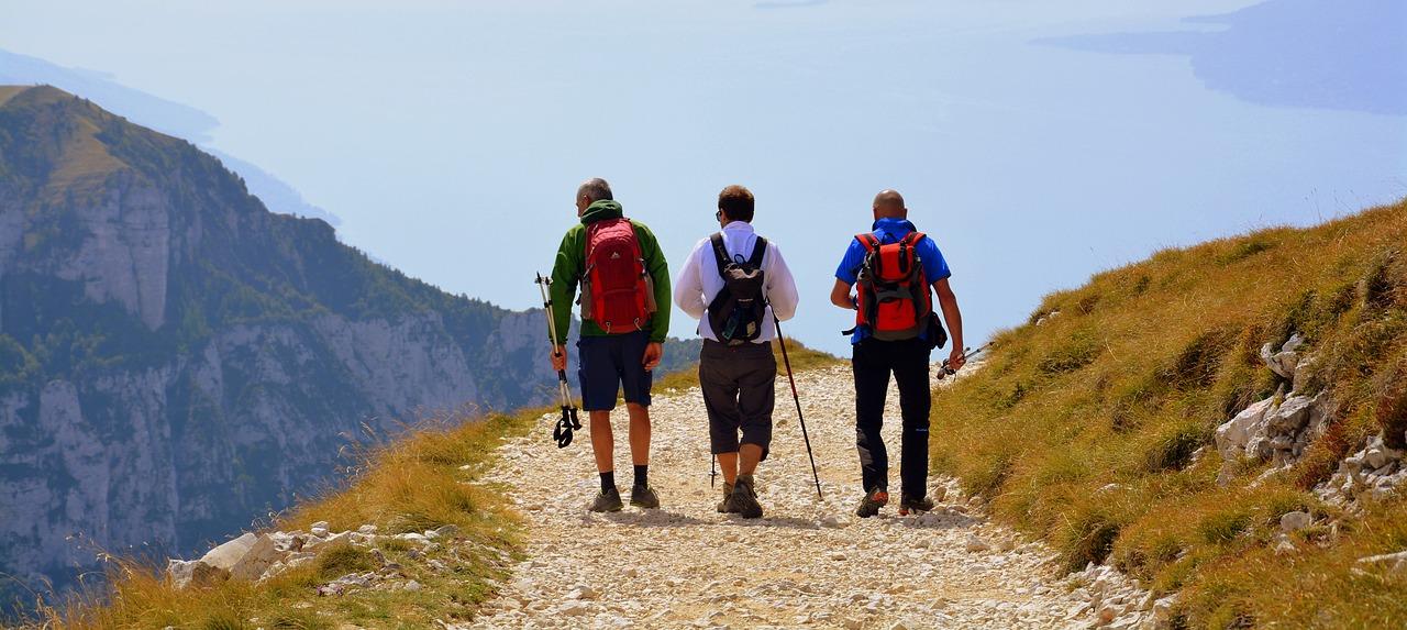 Wandern ohne Rückenschmerzen