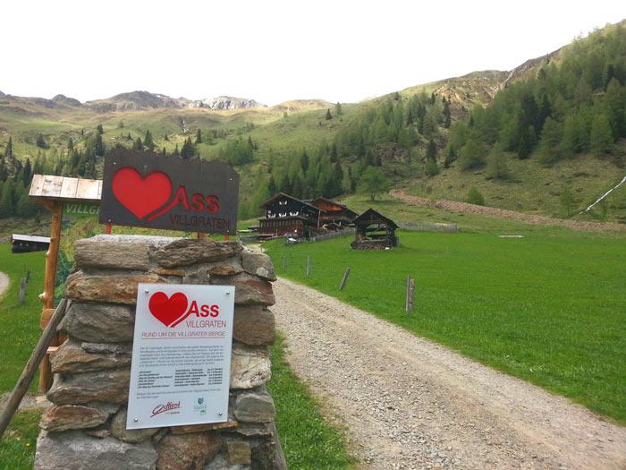 Herz-Ass-Weg in Osttirol