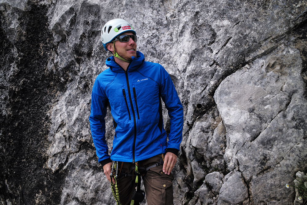 Im BERGSTEIGER Test 10/2015: VAUDE Bormio Jacket