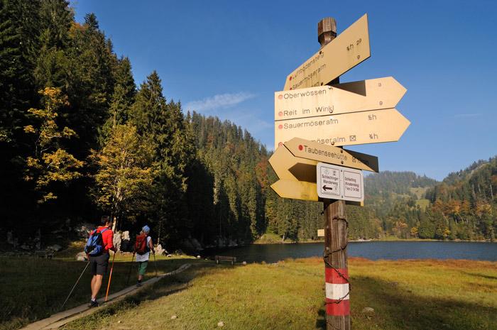 Der 3. Bergsteiger Wandertag findet in Reit im Winkl statt.