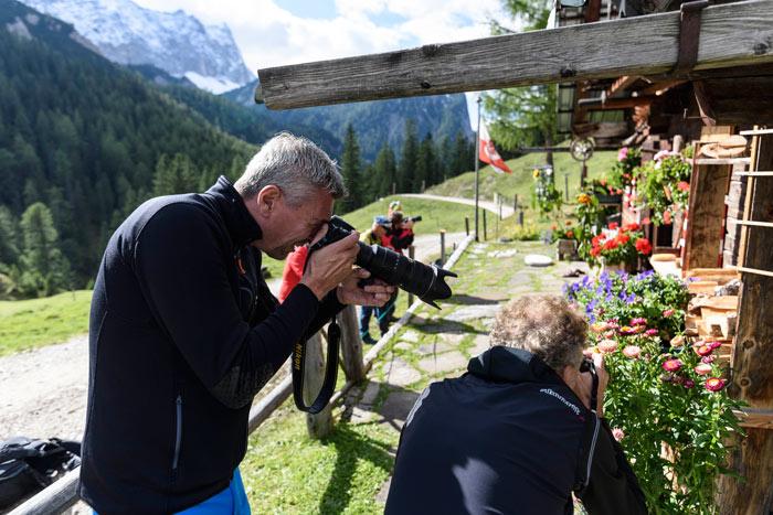 Fotografieren mit Tipps vom Profi