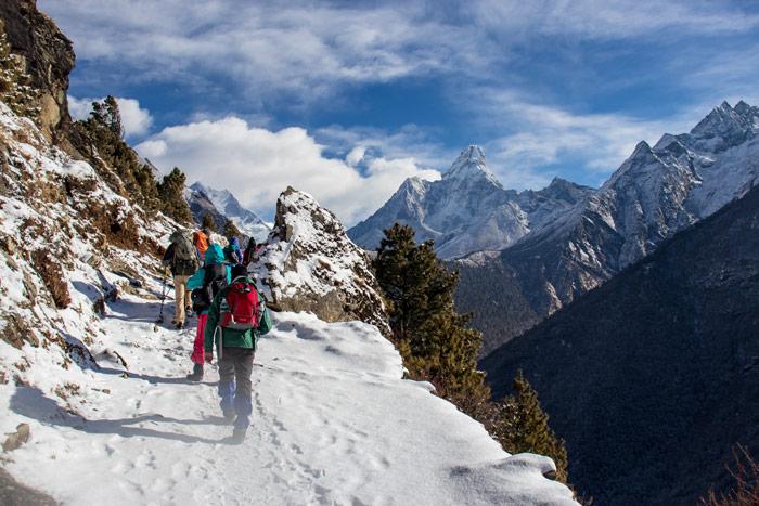 Bestens gerüstet für Winterwanderungen
