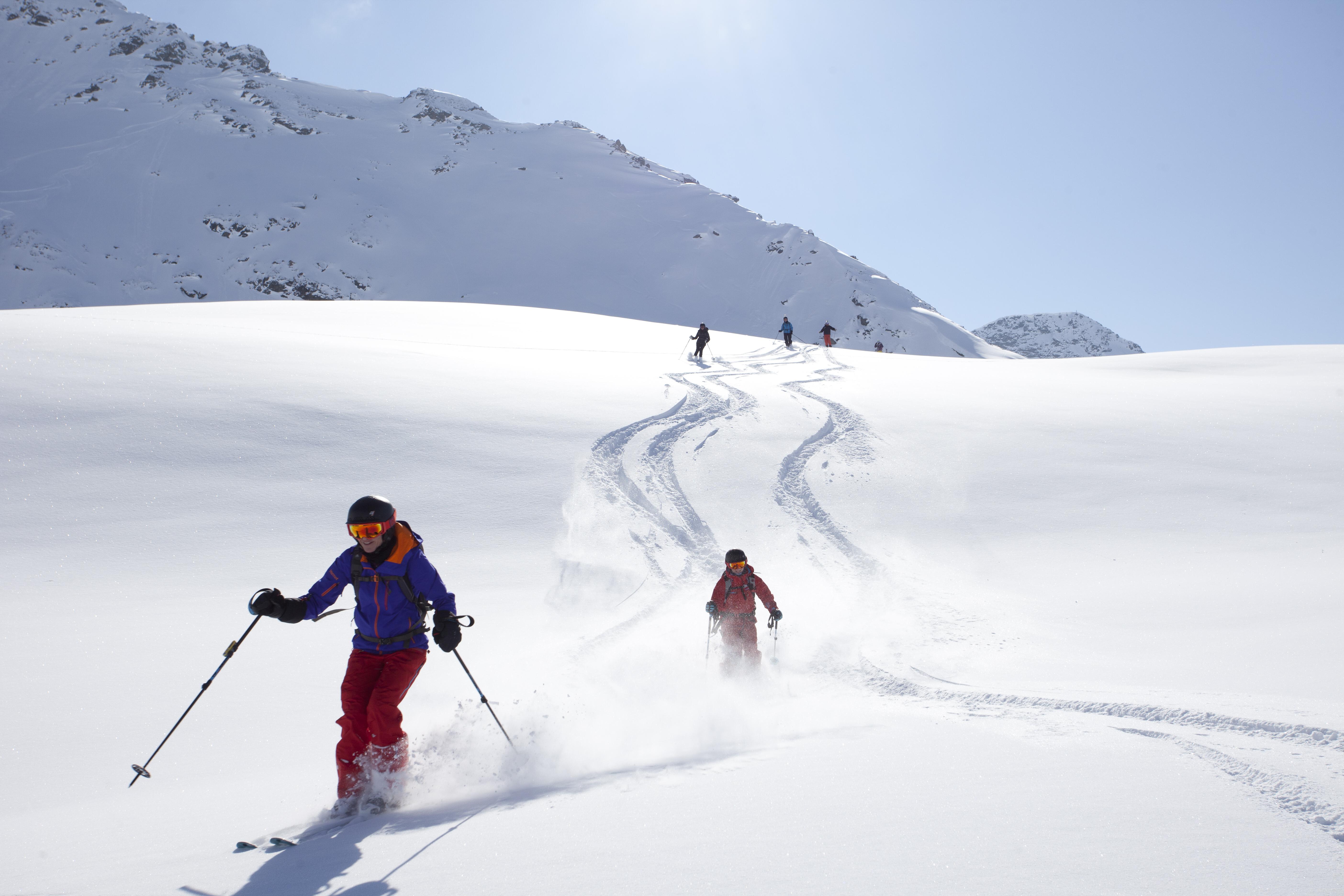 Tiefschnee-Spaß beim Women's Winter Camp